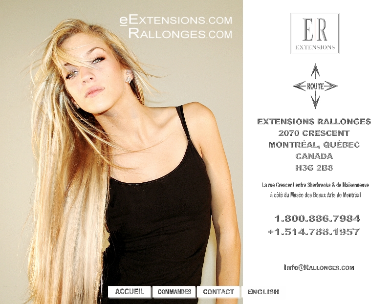 Tape Extensions Montreal 120